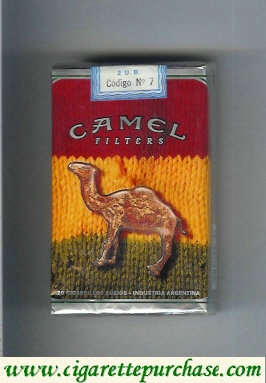 Discount Camel Night Collectors Reggae Filters cigarettes soft box