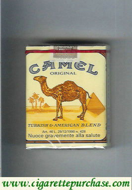 Discount Camel Original Turkish American Blend cigarettes soft box
