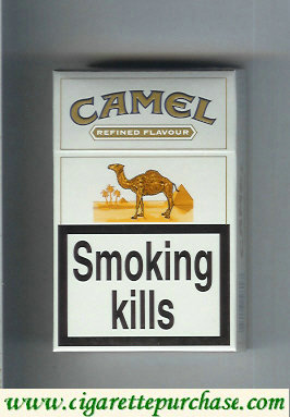 Camel Refined Flavour Ultra Lights cigarettes hard box
