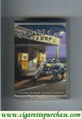Camel Road Lights cigarettes hard box