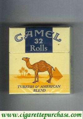 Discount Camel Rolls cigarettes hard box