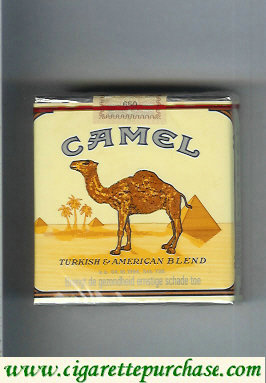 Discount Camel Turkish American Blend cigarettes 25 soft box