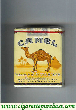 Discount Camel Turkish American Blend cigarettes soft box