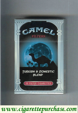 Camel Turkish Domestic Blend Filters cigarettes hard box