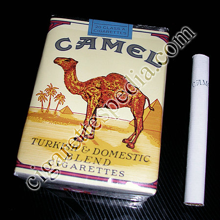 Discount Camel Turkish and Domestic Blend cigarettes soft box