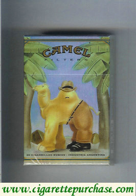 Discount Camel collection version ART Collection cigarettes hard box