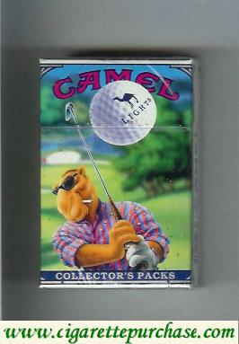 Discount Camel collection version Collector's Packs 4 Lights cigarettes hard box