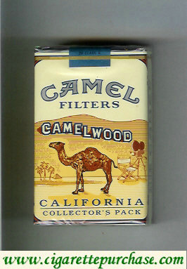 Discount Camel collection version Collectors Pack California Filters cigarettes hard box