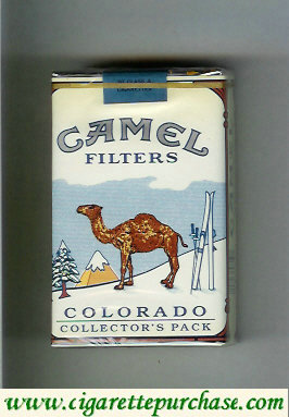 Discount Camel collection version Collectors Pack Colorado Filters cigarettes hard box