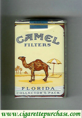 Discount Camel collection version Collectors Pack Florida Filters cigarettes hard box