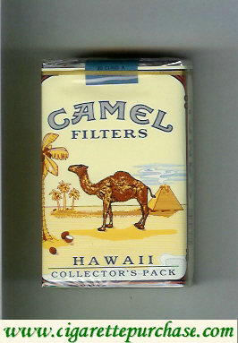 Discount Camel collection version Collectors Pack Hawaii Filters cigarettes soft box