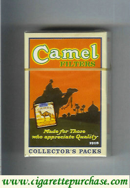 Discount Camel collection version Collectors Packs 1918 Filters cigarettes hard box