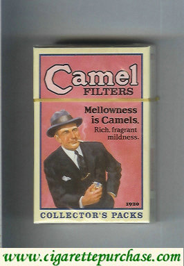 Discount Camel collection version Collectors Packs 1920 Filters cigarettes hard box