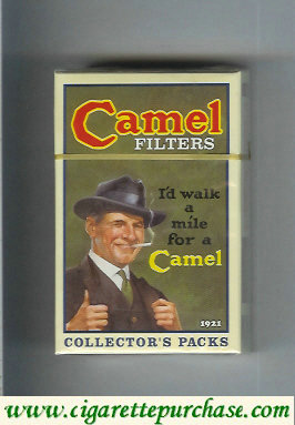 Discount Camel collection version Collectors Packs 1921 Filters cigarettes hard box