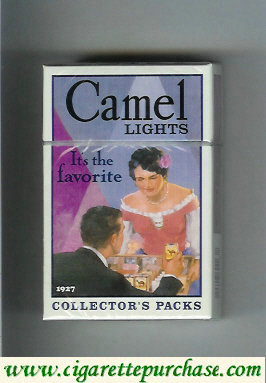 Discount Camel collection version Collectors Packs 1927 Lights cigarettes hard box