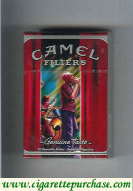 Discount Camel collection version Genuine Taste Filters Genuine Nights cigarettes hard box