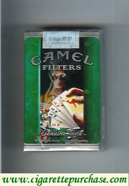 Discount Camel collection version Genuine Taste Filters Genuine Nights cigarettes soft box