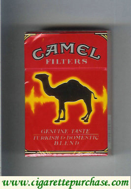 Discount Camel collection version Genuine Taste Turkish Domestic Blend Filters cigarettes hard box