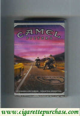 Discount Camel collection version Road Filters cigarettes hard box
