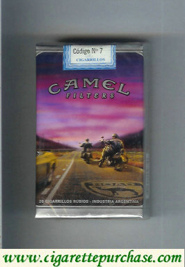 Discount Camel collection version Road Filters cigarettes soft box