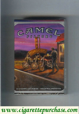 Discount Camel collection version Road Filters hard box cigarettes