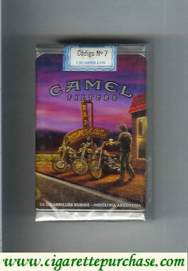 Camel collection version Road Filters soft box cigarettes