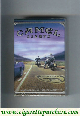 Discount Camel collection version Road Lights cigarettes hard box