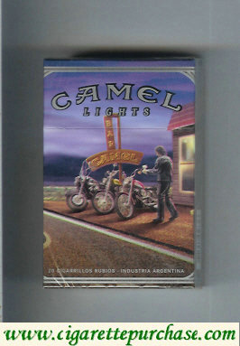 Discount Camel collection version Road Lights hard box cigarettes