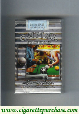 Discount Camel soft box Genuine Taste Filters Genuine Nights cigarettes