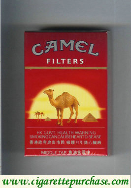 Discount Camel with sun Filters cigarettes Hard box