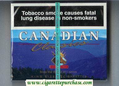 Discount Canadian Classics cigarettes