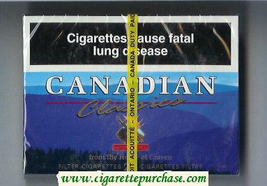 Discount Canadian Classics 25 cigarettes