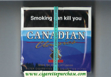 Discount Canadian Classics Filter cigarettes