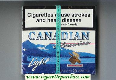 Discount Canadian Classics Light cigarettes
