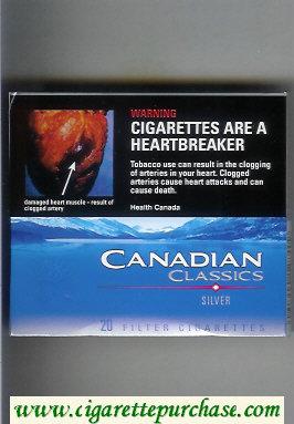 Discount Canadian Classics Silver cigarettes