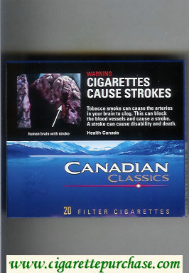 Discount Canadian Classics cigarettes Filter