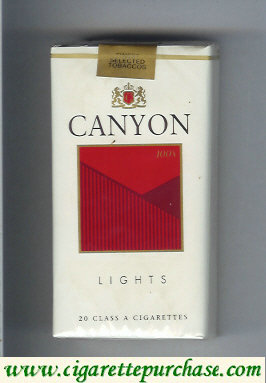Discount Canyon Lights 100s cigarettes