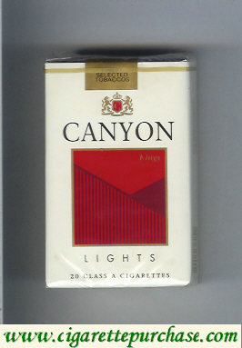 Discount Canyon Lights cigarettes soft box