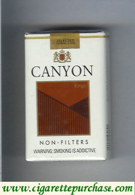 Discount Canyon Non-Filter cigarettes