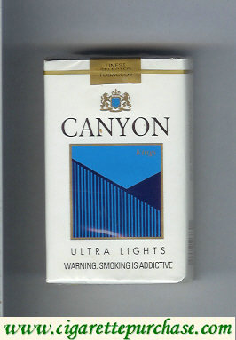Discount Canyon Ultra Lights cigarettes