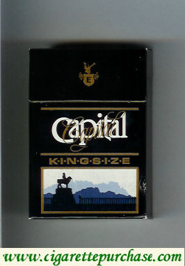 Capital king size cigarettes