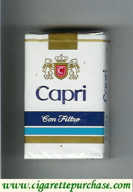 Discount Capri costarrican version Con Filtro cigarettes soft box
