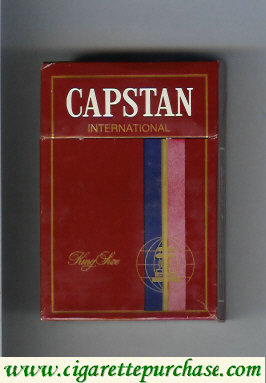 Discount Capstan International Filter cigarettes