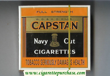 Discount Capstan Navy Cut cigarettes Full Strength
