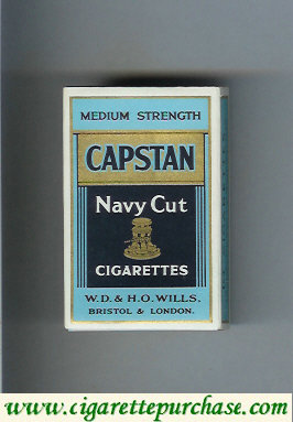 Discount Capstan Navy Cut cigarettes Medium Strength