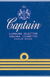 Captain cigarettes Supreme Selection