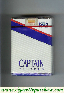 Captain filters cigarettes
