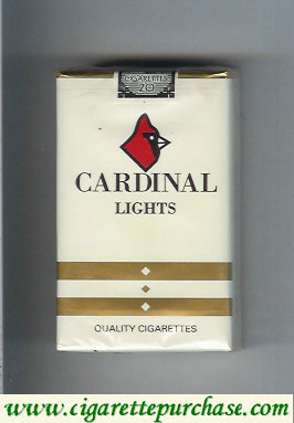 Cardinal Lights cigarettes
