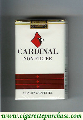 Cardinal Non-Filter cigarettes