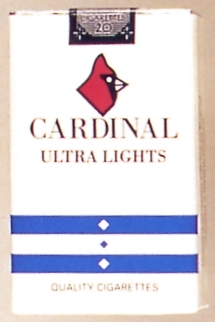 Cardinal Ultra Lights cigarettes